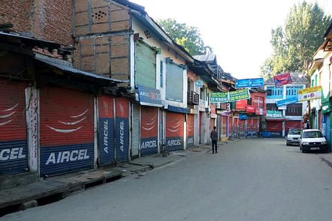 Banihal shuts against closing down of passenger vehicle stand