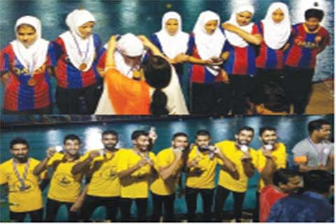 National Canoe Polo Championship: JK bags silver, bronze medals