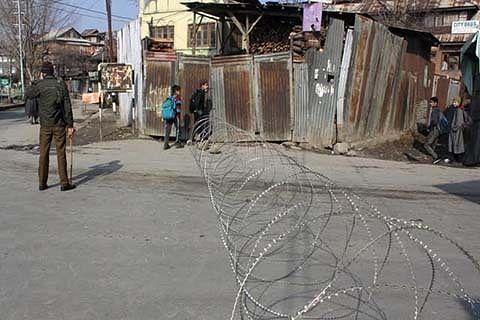 Restrictions in Srinagar areas today: DM