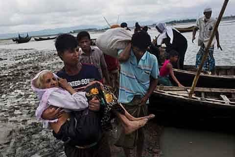 Rohingya exodus to Bangladesh reaches 389,000: United Nations