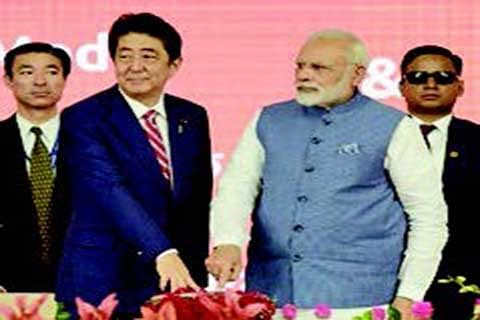 Modi, Abe launch India's first bullet train project