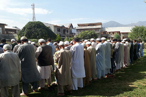 Funeral prayers in absentia held for LeT chief Abu Ismail, aide in Pampore