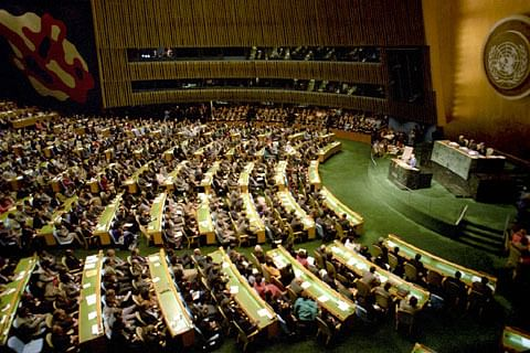 Indian diplomat's mike goes silent at UN conference while criticising China's BRI