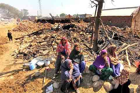 249 Gujjar families in Jammu stare at third 'forced' migration