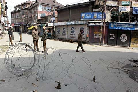 Restrictions in Srinagar areas today