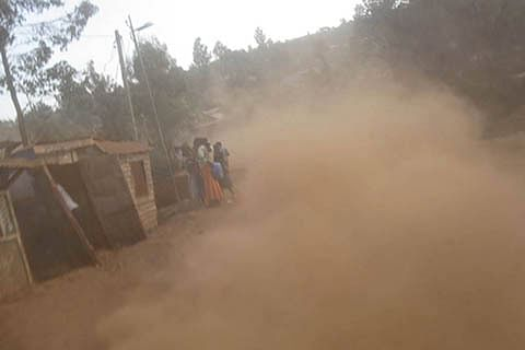 Drangbal in dust, locals fume