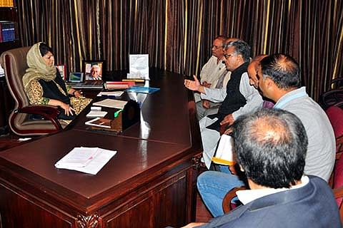 Deputations from Sopore, Drass call on Chief Minister