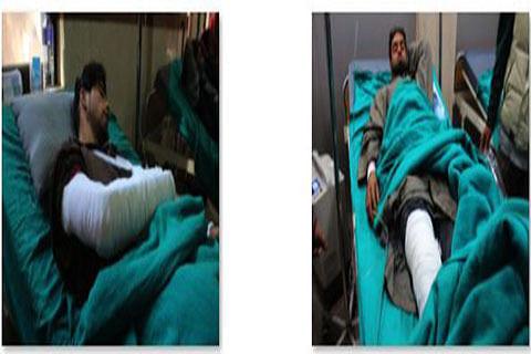 4 protesters injured in Pahalgam firing