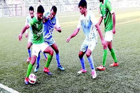 Premier Division League: Real Kashmir holds Kashmir FC to 1-1 draw