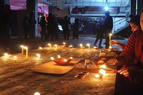 Diwali today: Governor, CM, Abdullahs greet people