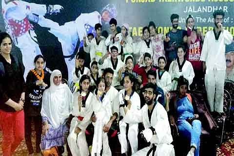 JK bags 7 medals in national Taekwon-do championship
