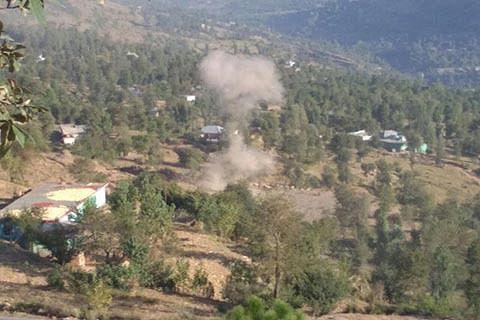 8 civilians injured in LoC shelling