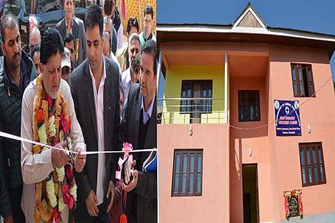 Kohli inaugurates sheep husbandry lab in Ganderbal