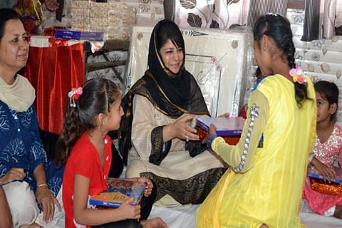 CM visits children's home in R S Pura, calls for their social integration