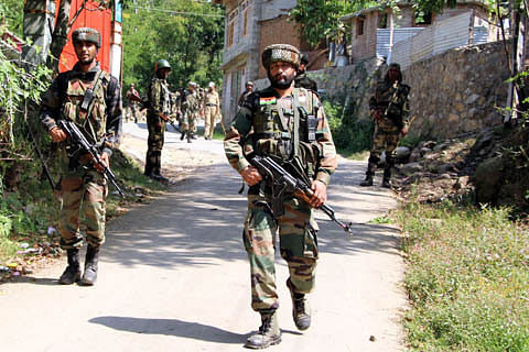 Four militants killed in two separate gunfights in Pulwama and Kulgam: police