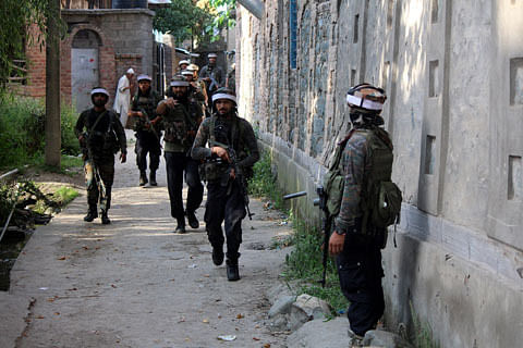 Security forces launch search operation in J&K's Poonch after 'suspicious movement'