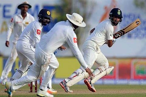 India openers make merry against Sri Lanka bowlers to take 49-run