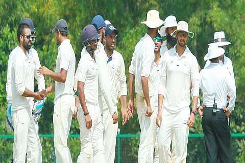 Ranji Trophy: J&K v/s Haryana; Day 3; Haryana lead by 169 runs with one wicket in hand