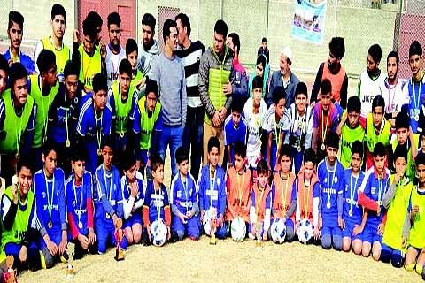 Bemina football academy celebrate 3-years of completion