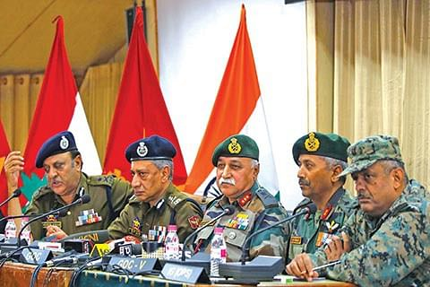 190 militants killed in Kashmir this year: Army
