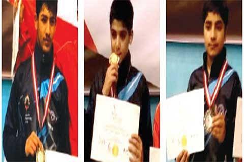 Kashmiri players shine at 3rd Singapore open international Pencak Silat championship