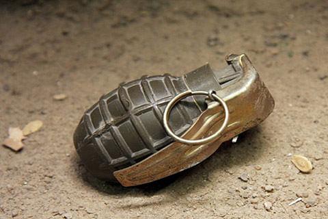 Grenade blast at Parimpora
