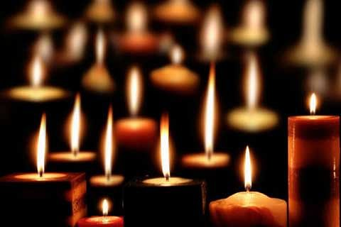 Candle-light vigil held for road accident victims
