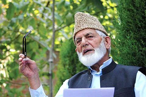 Geelani thanks Pakistan for supporting Kashmiris