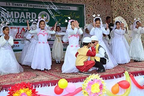 Hamdard school celebrates annual day