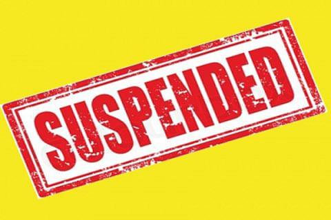 Police officer suspended after video of him demanding bribe goes viral