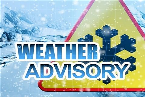 Divisional administration Kashmir issues weather advisory