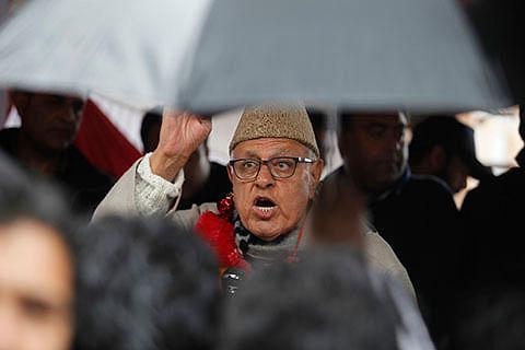New Delhi must condemn US move: Farooq