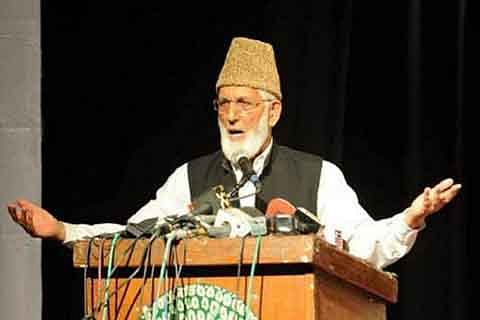 US following prejudicial policy against Muslims: Geelani