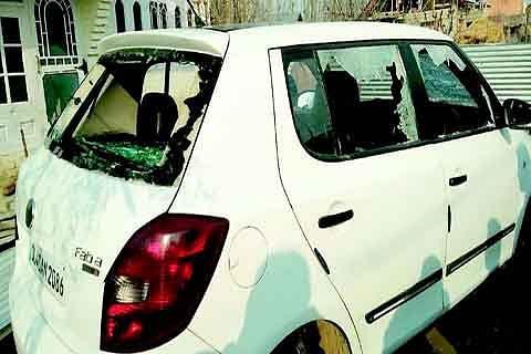 Shutdown observed against Hajin arson, vandalism