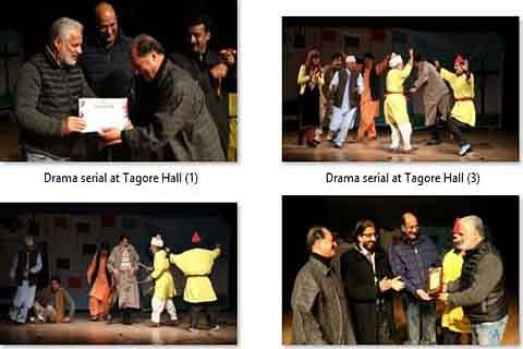 Political satire Bazr wuch mai tamasha staged at Tagore Hall