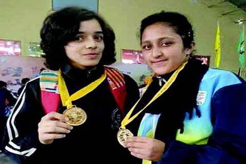 JK girls bag 2 gold medals in Guwahati