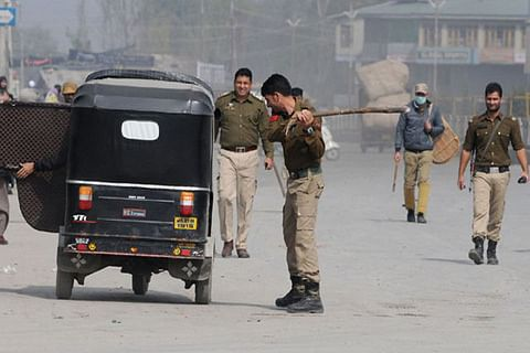Video   Partial restrictions in Kashmir capital to prevent anti-US protests