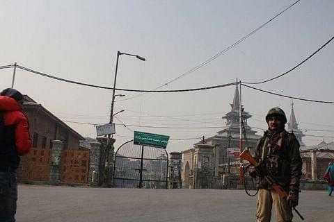 Fearing protests, authorities bar Friday prayers at historic Jamia Masjid in Kashmir capital