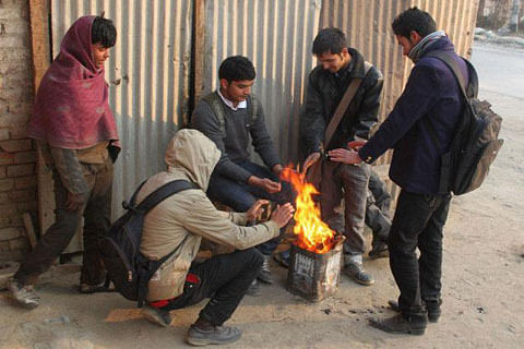 Cold wave unabated in Jammu and Kashmir
