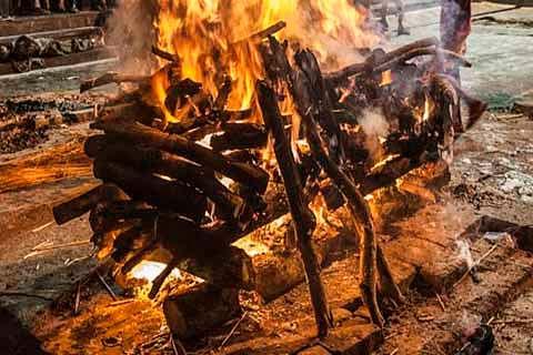 Street vendor Virender Paswan cremated