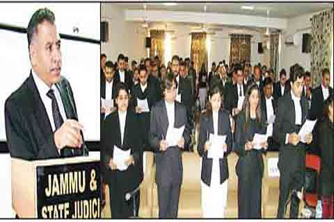 State Judicial Academy organises oath ceremony