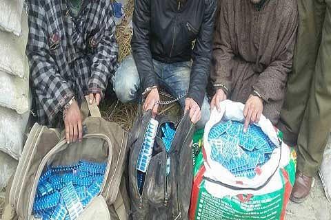 Drug peddler held at Qamarwari
