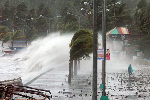 74 killed, 5000 displaced after storm hits Philippines