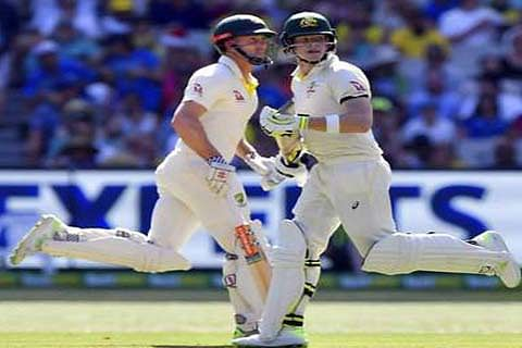 4th Ashes Test: Warner, Smith take Australia to 244/3 on Day 1