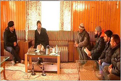 Dineshwar Sharma visits Baramulla, meets several delegations
