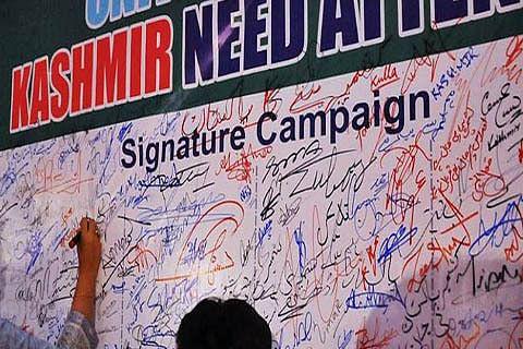 6 countries sign declaration on peaceful Kashmir resolution