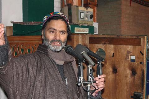 Kashmir government's social media gag order dictatorial: Yasin Malik