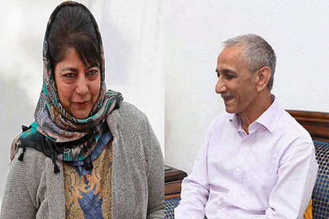 Kashmir interlocutor Dineshwar Sharma calls on Mehbooba in Jammu