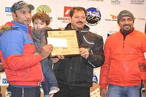 Nabeel Anwar wins Gulmarg Snow Autocross Race 2017