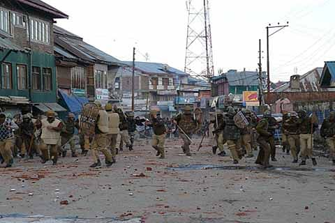 'Stone-pelting incidents declined in J&K'